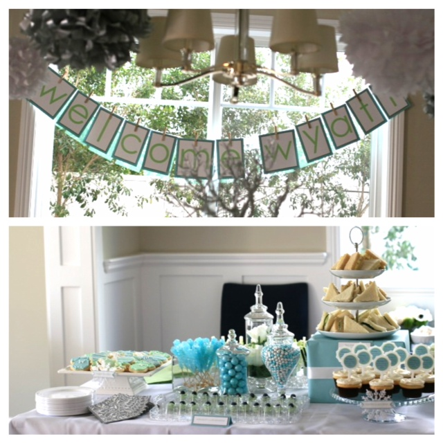 Winter Wonderland Baby Showers ~ Winter wonderland themed baby shower ideas images