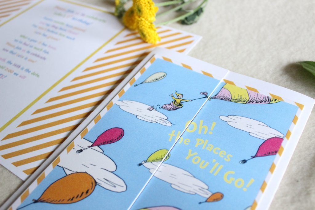 Dr. Seuss Oh The Places You\'ll Go Theme Birthday Party & Baby Shower ...