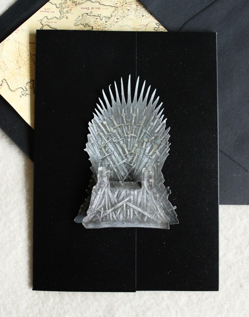 Game Of Thrones Theme Birthday Party Invitations Tanja Maduzia