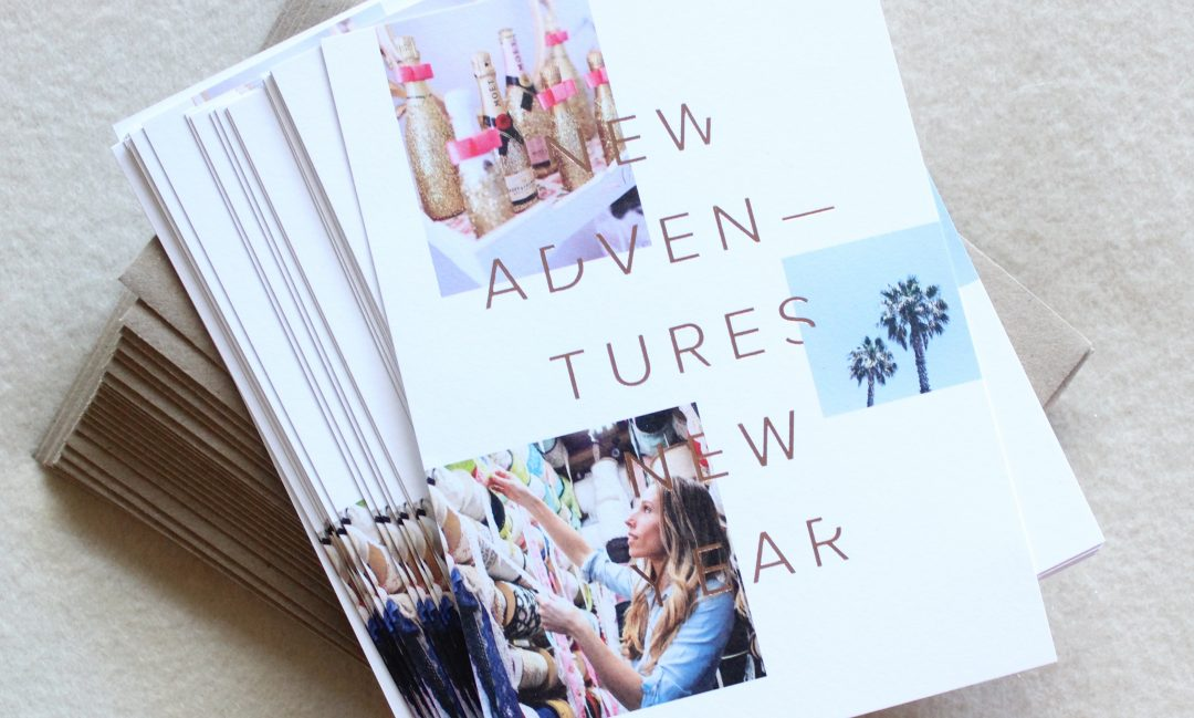 begin the new year with sending holiday cheer new years cards are the perfect way to kick off a new chapter with a fresh start break out the bubbly